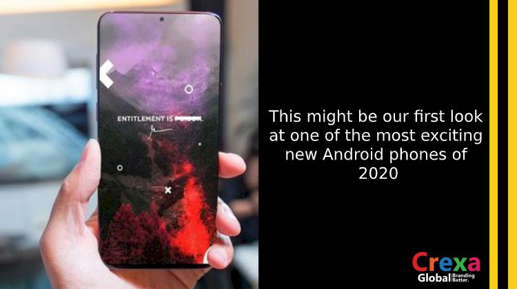 This might be our first look at one of the most exciting new Android phones of 2020